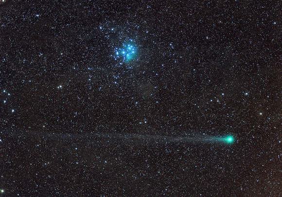 Lovejoy e as Pleiades